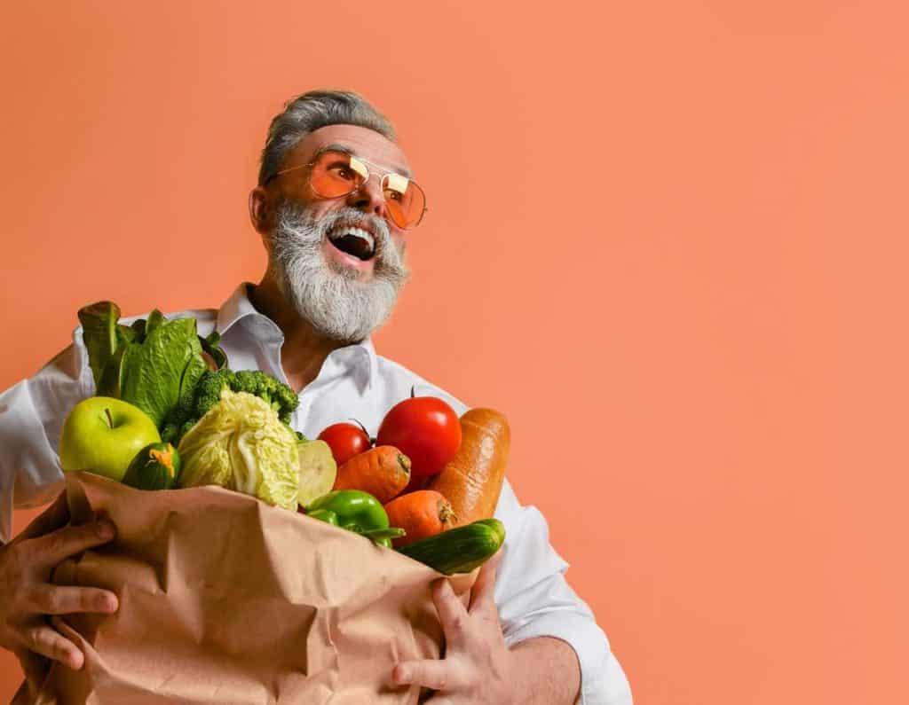 Dieta saludable para ancianos