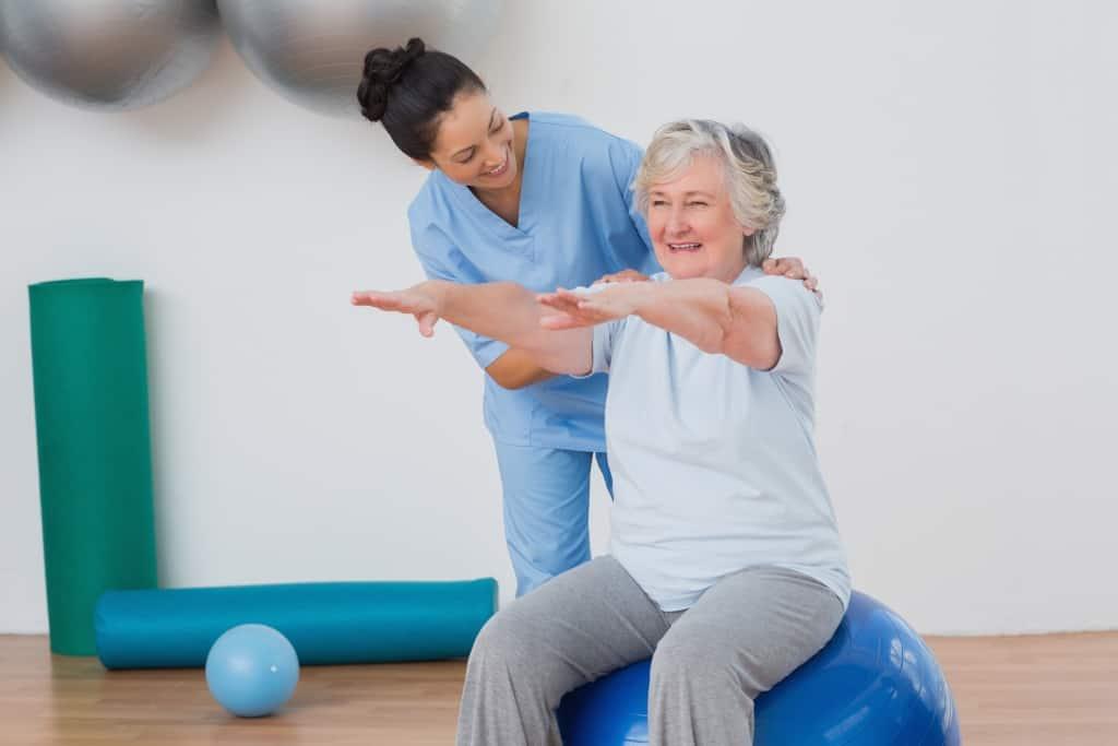 fisioterapia para adultos mayores